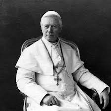 Pope Pius IX, who defined the Dogma of the Immaculate Conception (1854)