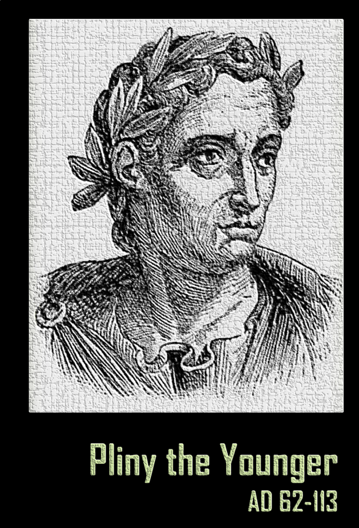 pliny the younger Pliny the younger: pliny the younger, roman author and administrator who left a collection of private letters of great literary charm, intimately illustrating public and private life in the heyday of the roman empire born into a wealthy family and adopted by his uncle, pliny the elder, pliny began to practice law at.